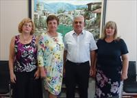 Meeting with the Mayor of Mostar Ljubo Bešlić